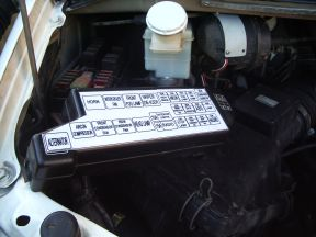 please note the engine bay fusebox sticker has now been redesigned, to fit  inside the fusebox lid  the engine bay environment is not great for  stickers